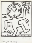 Lot #1071: KEITH HARING - Naples Suite #14 - Lithograph