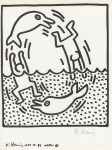 Lot #335: KEITH HARING - Naples Suite #15 - Lithograph