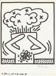 Lot #333: KEITH HARING - Naples Suite #18 - Lithograph