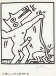 Lot #1841: KEITH HARING - Naples Suite #19 - Lithograph