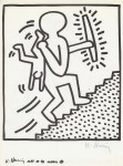 Lot #1840: KEITH HARING - Naples Suite #20 - Lithograph