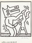 Lot #1839: KEITH HARING - Naples Suite #21 - Lithograph