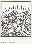 Lot #1837: KEITH HARING - Naples Suite #23 - Lithograph