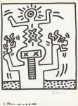 Lot #332: KEITH HARING - Naples Suite #25 - Lithograph