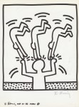 Lot #1070: KEITH HARING - Naples Suite #27 - Lithograph