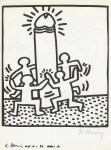 Lot #1834: KEITH HARING - Naples Suite #28 - Lithograph