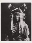 Lot #2006: EDWARD S. CURTIS - Head Carry, Blackfoot - Original photogravure