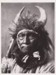 Lot #1404: EDWARD S. CURTIS - Bull Chief, Crow - Original photogravure