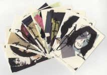 Lot #360: ANDY WARHOL - Mick Jagger Suite (second edition, deluxe set) - Color offset lithographs