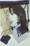 Lot #1103: ANDY WARHOL - Mick Jagger #06 (first edition) - Color offset lithograph