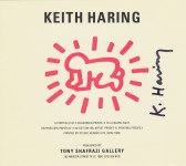 """Lot #2056: KEITH HARING - Fertility Suite: Radiant Baby """"text card"""" - Original offset lithograph"""