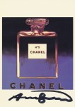 Lot #1383: ANDY WARHOL - Chanel - Color offset lithograph