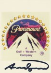 Lot #1001: ANDY WARHOL - Paramount - Color offset lithograph