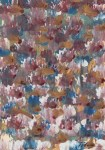 Lot #1731: MARK TOBEY - Raindrop Prism #3 - Oil and tempera on paper