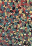 Lot #953: MARK TOBEY - Raindrop Prism #4 - Oil and tempera on board