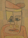 Lot #2105: PAUL KLEE [imputee] - Das weinen - Watercolor and ink on paper