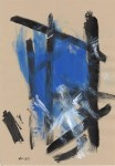 Lot #2133: FRANZ KLINE - Composition - Oil on paper