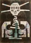 Lot #14: KARIMA MUYAES - Woman Shaman - Color Monoprint
