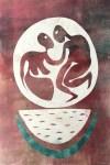 Lot #27: KARIMA MUYAES - Watermelon Dance - Color monoprnt