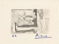 Lot #2220: PABLO PICASSO [d'apres] - April 25, 1964 - Original silkscreen & lithograph