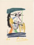 Lot #372: PABLO PICASSO [d'apres] - May 20, 1964 #03 - Original color silkscreen & lithograph