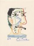 Lot #1108: PABLO PICASSO [d'apres] - May 20, 1964 #06 - Original color silkscreen & lithograph