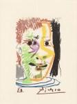 Lot #1106: PABLO PICASSO [d'apres] - May 20, 1964 #10 - Original color silkscreen & lithograph