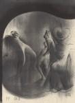 Lot #1416: AL HIRSCHFELD - Boogie-Woogie - Original lithograph