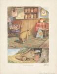 Lot #1760: E(RNEST) H(OWARD) SHEPARD - Pooh Does His Stoutness Exercises - Original color offset lithograph