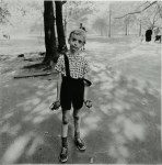Lot #650: DIANE ARBUS - Child with a Toy Hand Grenade in Central Park, New York - Original vintage photogravure