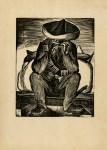 Lot #1175: LEOPOLDO MENDEZ - La Revolution que hace Arte - Linoleum cut