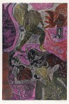 Lot #267: KARIMA MUYAES - Pasaje - Color linocut