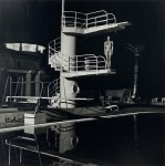 Lot #1037: HELMUT NEWTON - Nude, Diving Tower, Old Beach Hotel, Monte Carlo - Original photolithograph