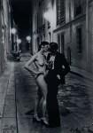 Lot #201: HELMUT NEWTON - Rue Aubriot, Fashion Model and Nude Kissing, Paris, 1975 - Original vintage photolithograph