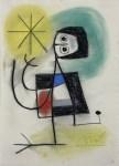 Lot #793: JOAN MIRO - Untitled - Pastel drawing on paper
