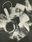 Lot #1722: MAN RAY - Rayograph - Film Strip Roll Up - Original vintage photogravure