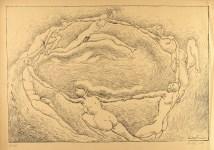 Lot #644: RUDOLF BAUER - Circle of Life - Original lithograph