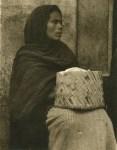 Lot #1507: PAUL STRAND - Woman, Patzcuaro - Original photogravure