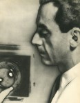 Lot #390: MAN RAY - Man Ray Self-Portrait - Original vintage photogravure