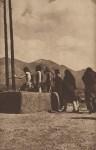 Lot #1969: EDWARD S. CURTIS - Into the Kiva, Pueblo - Original vintage sepia toned photogravure