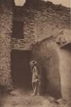 Lot #2016: EDWARD S. CURTIS - Golden Stars at the Pueblo - Original vintage sepia toned photogravure